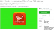 Udemy Coupon – Killer WordPress Aliexpress Affiliate Store With Aliplugin