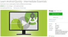 Udemy Coupon – Learn Android Quickly – Intermediate Essentials