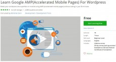 Udemy Coupon – Learn Google AMP(Accelerated Mobile Pages) For WordPress
