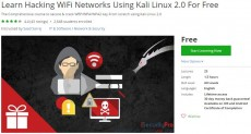 Udemy Coupon – Learn Hacking WiFi Networks Using Kali Linux 2.0 For Free