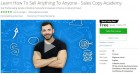 Udemy Coupon – Learn How To Sell Anything To Anyone – Sales Copy Academy