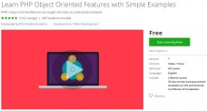Udemy Coupon- Learn PHP Object Oriented Features with Simple Examples