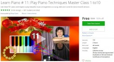 Udemy Coupon – Learn Piano # 11: Play Piano Techniques Master Class 1 to10