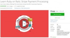 Udemy Coupon – Learn Ruby on Rails: Stripe Payment Processing