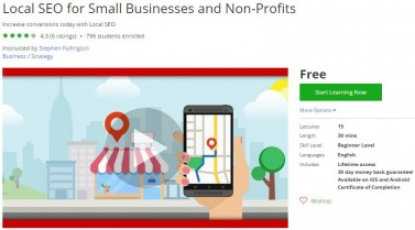 Udemy Coupon – Local SEO for Small Businesses and Non-Profits