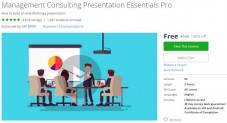 Udemy Coupon – Management Consulting Presentation Essentials Pro