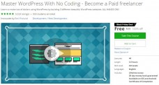 Udemy Coupon – Master WordPress With No Coding – Become a Paid freelancer