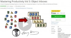 Udem Coupon – Mastering Productivity Vol 3: Object Inboxes