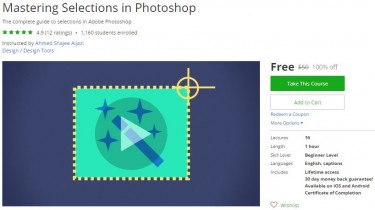 Udemy Coupon – Mastering Selections in Photoshop