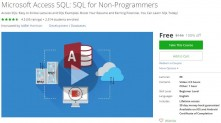 Udemy Coupon – Microsoft Access SQL: SQL for Non-Programmers