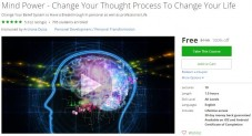 Udemy Coupon- Mind Power – Change Your Thought Process To Change Your Life