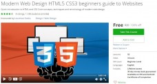 Udemy Coupon – Modern Web Design HTML5 CSS3 beginners guide to Websites