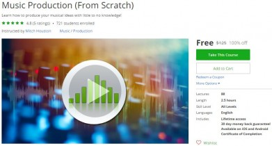 Udemy Coupon – Music Production (From Scratch)