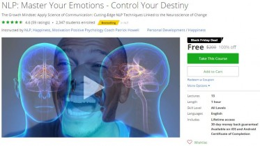 Udemy Coupon – NLP: Master Your Emotions – Control Your Destiny