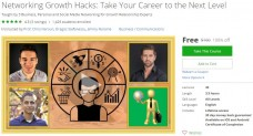 Udemy Coupon – Networking Growth Hacks: Take Your Career to the Next Level