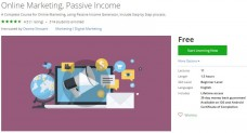 Udemy Coupon – Online Marketing, Passive Income