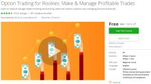 Udemy Coupon – Option Trading for Rookies: Make & Manage Profitable Trades