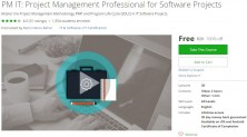 Udemy Coupon – PM IT: Project Management Professional for Software Projects
