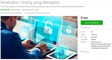 Udemy Coupon – Penetration Testing using Metasploit