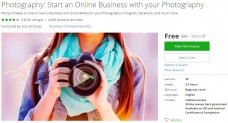 Udemy Coupon – Photography: Start an Online Business with your Photography