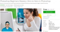 Udemy Coupon – Photoshop Beginners Mastery: Zero to Hero in Photoshop