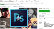 Udemy Coupon – Photoshop Effects – Create Stunning Photo Effects