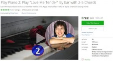 "Udemy Coupon – Play Piano 2: Play ""Love Me Tender"" By Ear with 2-5 Chords"