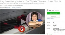 Udemy Coupon – Play Piano 6 -Improvise on The Way We Were with Power Chords