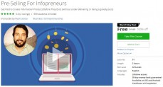 Udemy Coupon – Pre-Selling For Infopreneurs