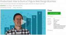 Udemy Coupon – Productized: How to Build a 7-Figure Web Design Business