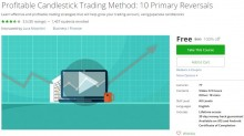 Udemy Coupon – Profitable Candlestick Trading Method: 10 Primary Reversals