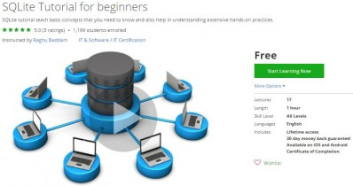 Udemy Coupon – SQLite Tutorial for beginners