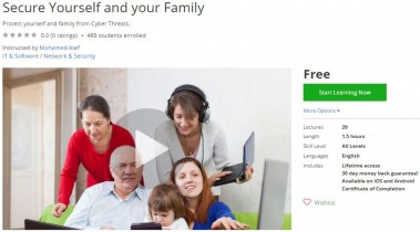 Udemy Coupon – Secure Yourself and your Family