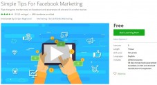 Udemy Coupon – Simple Tips For Facebook Marketing
