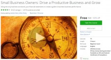 Udemy Coupon – Small Business Owners: Drive a Productive Business and Grow