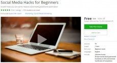 Udemy Coupon – Social Media Hacks for Beginners