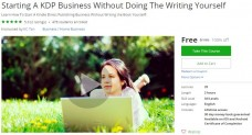 Udemy Coupon – Starting A KDP Business Without Doing The Writing Yourself