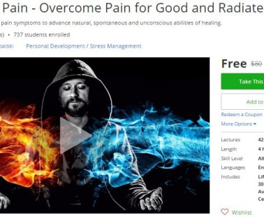 Udemy Coupon – Surpassing Pain – Overcome Pain for Good and Radiate Health