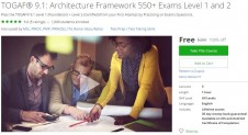 Udemy Coupon – TOGAF® 9.1: Architecture Framework 550+ Exams Level 1 and 2
