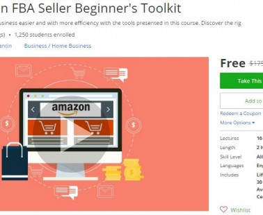 Udemy Coupon – The Amazon FBA Seller Beginner's Toolkit