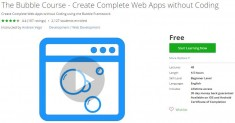Udemy Coupon – The Bubble Course – Create Complete Web Apps without Coding