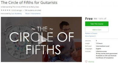 Udemy Coupon – The Circle of Fifths for Guitarists