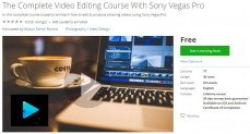 Udemy Coupon – The Complete Video Editing Course With Sony Vegas Pro