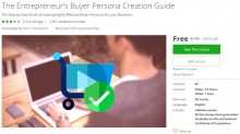 Udemy Coupon – The Entrepreneur's Buyer Persona Creation Guide