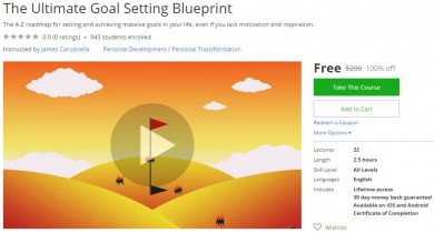 Udemy Coupon – The Ultimate Goal Setting Blueprint