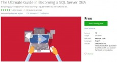 Udemy Coupon – The Ultimate Guide in Becoming a SQL Server DBA