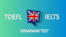 Udemy Coupon – The Ultimate TOEFL and IELTS Grammar Test