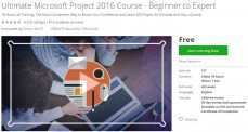 Udemy Coupon – Ultimate Microsoft Project 2016 Course – Beginner to Expert