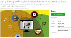Udemy Coupon – Using Shopify and Facebook to Quick-Start an eCommerce Store