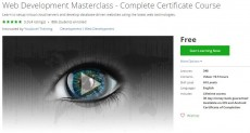 Udemy Coupon – Web Development Masterclass – Complete Certificate Course